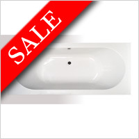 Vessini - Super Strength Acrylic Double Ended Bath 1800 x 800mm