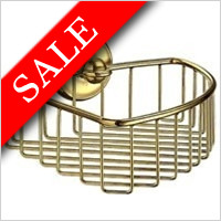 Smedbo - Villa Corner Soap Basket 200 x 200mm Korgens Height 60mm