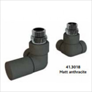 Corner Radiator Valves - Pair