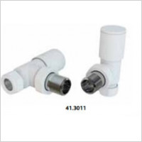 Eastbrook - Angled Radiator Valve-Pair