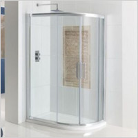 Eastbrook - Corniche Easy Clean Offset Quadrant Enclosure 1200 x 900mm