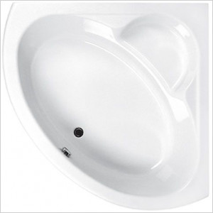 Monarch Corner Bath 1300 x 1300mm Carronite