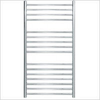 Jis - Steyning Cylindrical Electric Flat Front Towel Rail 1000x520
