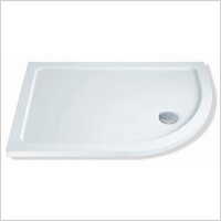 MX Shower Trays - Elements Low Profile RH Offset Quad 1200 x 800mm Shower Tray