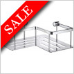 Slideline Design Corner Soap Basket 200 x 200 x 70mm