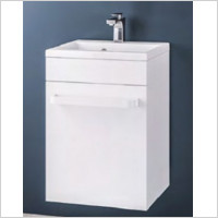 Eastbrook - Oslo 440mm Wall Hung Basin Unit With Internal Drawer