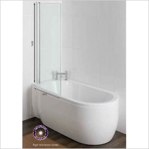 Advantage Deep Bath 1500 x 700/800 x 500mm 5mm RH