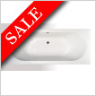 Super Strength Acrylic Double Ended Bath 1700 x 750mm