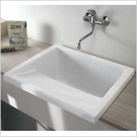 Villeroy & Boch - Washington Apron Fronted 1.0 Large Laundry Bowl Sink