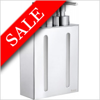 Smedbo - Outline Wall Mounted Soap Dispenser 210mm 2 Containers