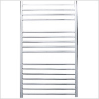 Jis - Steyning Cylindrical Electric Flat Front Towel Rail 1000x620