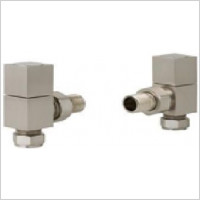 Eastbrook - Angled Square Radiator Valve