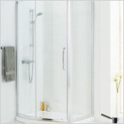 Bow Fronted Sliding Shower Doors