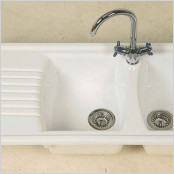Ceramic Inset 2 bowl Sink