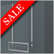 X Series Towel Hanging Bar With Glass Shelf