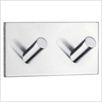 Smedbo - Beslagsboden Design Double Towel Hook Length 90mm
