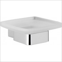 Roper Rhodes - Horizon Frosted Glass Soap Dish Holder