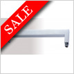 Square Fixed Wall Arm 370mm