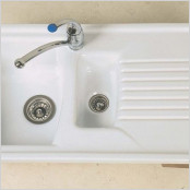 Ceramic Inset 1.5  Bowl  Sink