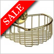 Villa Corner Soap Basket 200 x 200mm Korgens Height 60mm
