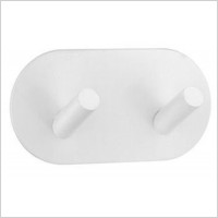 Smedbo - Beslagsboden Design Double Towel Hook Length 96mm