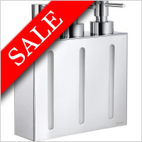 Smedbo - Outline Wall Mounted Soap Dispenser 210mm 3 Containers