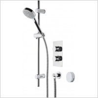 Roper Rhodes - Event Round Dual Function Shower System With Bath Filler