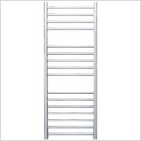Jis - Steyning Cylindrical Electric Flat Front Towel Rail 1000x400