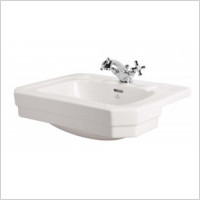 Shires - Waverley Semi-Countertop Basin 59.5cm 1TH