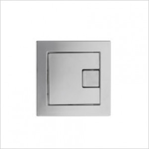 Square Cistern / Frame Dual Flush Button