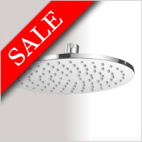 Vessini - Round Shower Head 200mm
