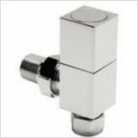 Radox - Square Angled Valve Wheelhead & Lockshield