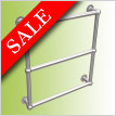 Elegance Farthing Towel Warmer 674 x 674mm