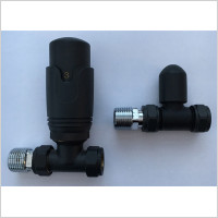 Eastbrook - 15mm Straight TRV And Lockshield Valve