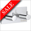 Pool Double Towel Hook Length 80mm Height 40mm