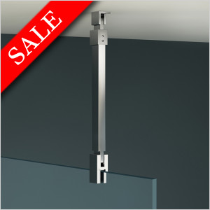 X Series Designer Ceiling Support Arm Glass-Ceiling