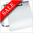 Air Toilet Roll Holder With Cover