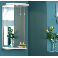 Eastbrook - Madrid 430mm Mirror with 1 Halogen