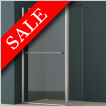 E Series Walk-in Shower Screen 700 + 350 x 1850mm