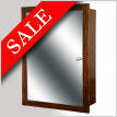 Trio Cabinet With Mirror & Shelves 799 x 536mm