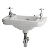 Shires - Waverley Victorian Cloakroom Basin 510 x 300mm 2TH