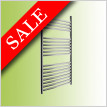 Elegance Radius Towel Warmer 750 x 600mm