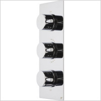 Roper Rhodes - Event Round Triple Control Thermostatic Shower Valve