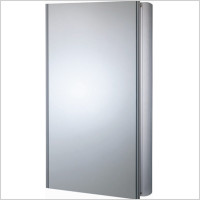 Roper Rhodes - Ascension Refine Slimline Double Mirror Glass Door Cabinet