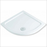 MX Shower Trays - Elements Low Profile ABS 800 x 800mm Quadrant Shower Tray Ra