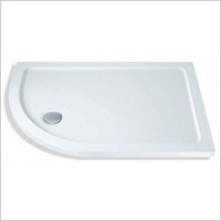 MX Shower Trays - Elements Low Profile RH Offset Quad 1200 x 900mm Shower Tray