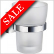 House Holder With Frosted Glass Tumbler Height 140mm