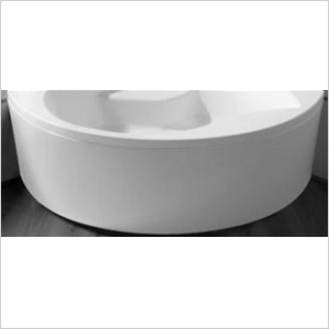 Affinity/Dove Bath Panel 1550 x 950mm Carronite