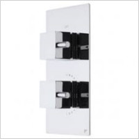 Roper Rhodes - Event Square Dual Control Thermostatic Shower Valve