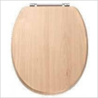 Eastbrook - Sherwood MDF Soft Close Seat In Vinyl Wrap